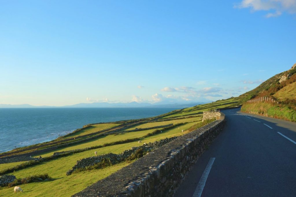 Coastal Road Trip, A493, Fairbourne