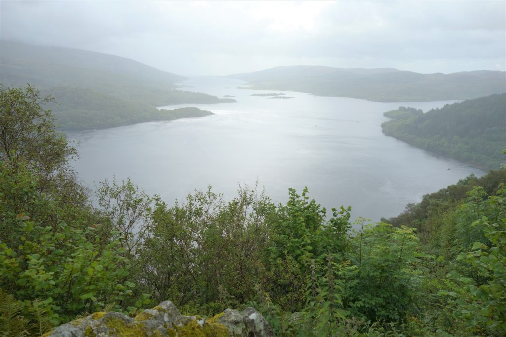 Coastal Road Trip, view above Tighnabruaich
