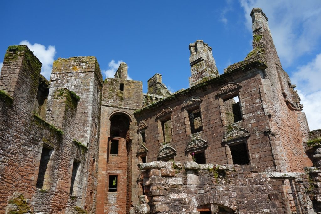 Coastal Road Trip, Caerlaverock Castle Interior
