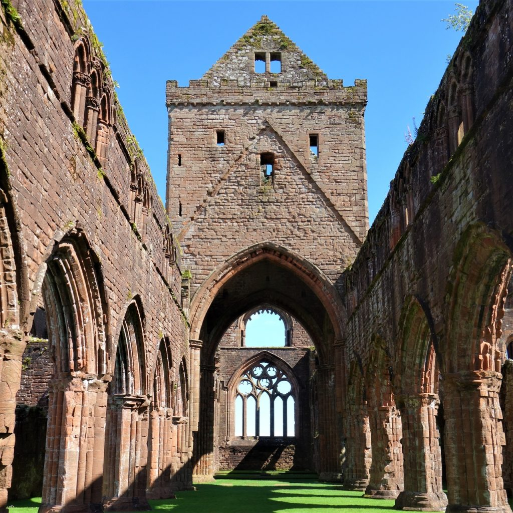 Coastal Road Trip, New Abbey, Sweetheart Abbey