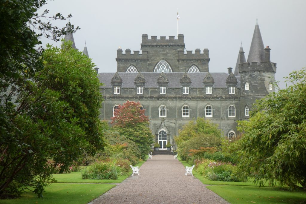 Coastal Road Trip, Inveraray Castle