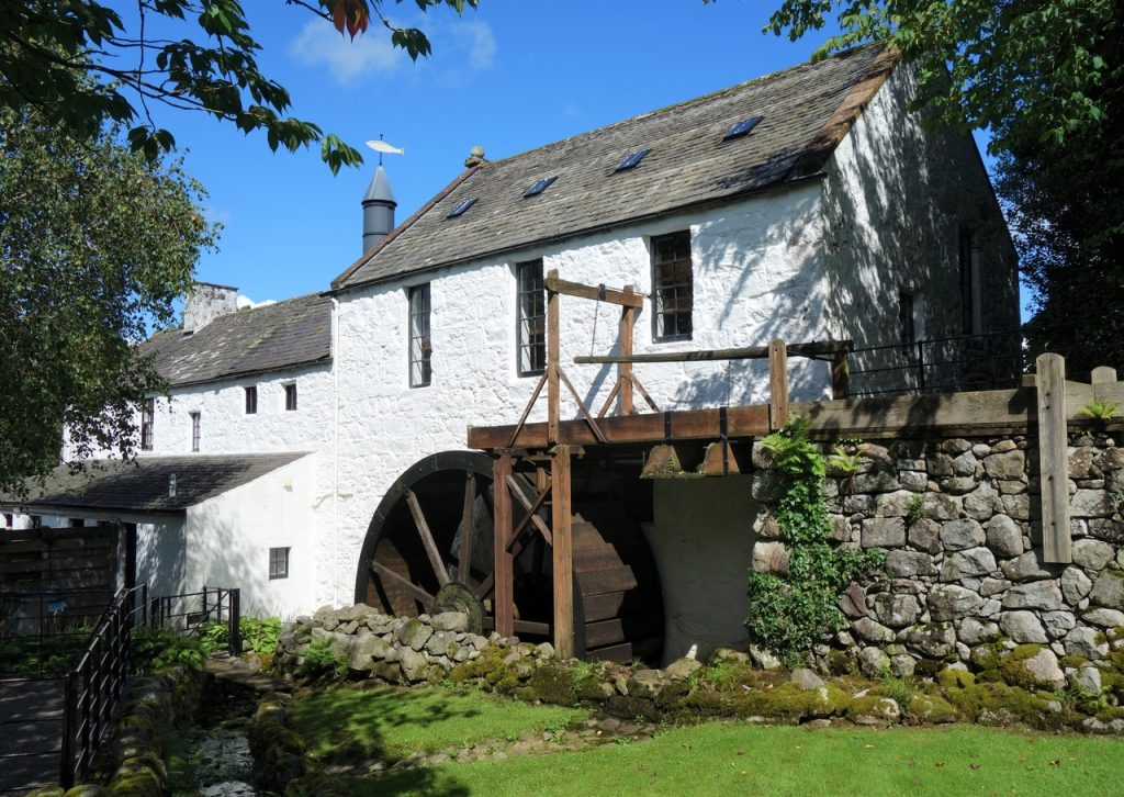 Coastal Road Trip, New Abbey, The New Abbey Corn Mill