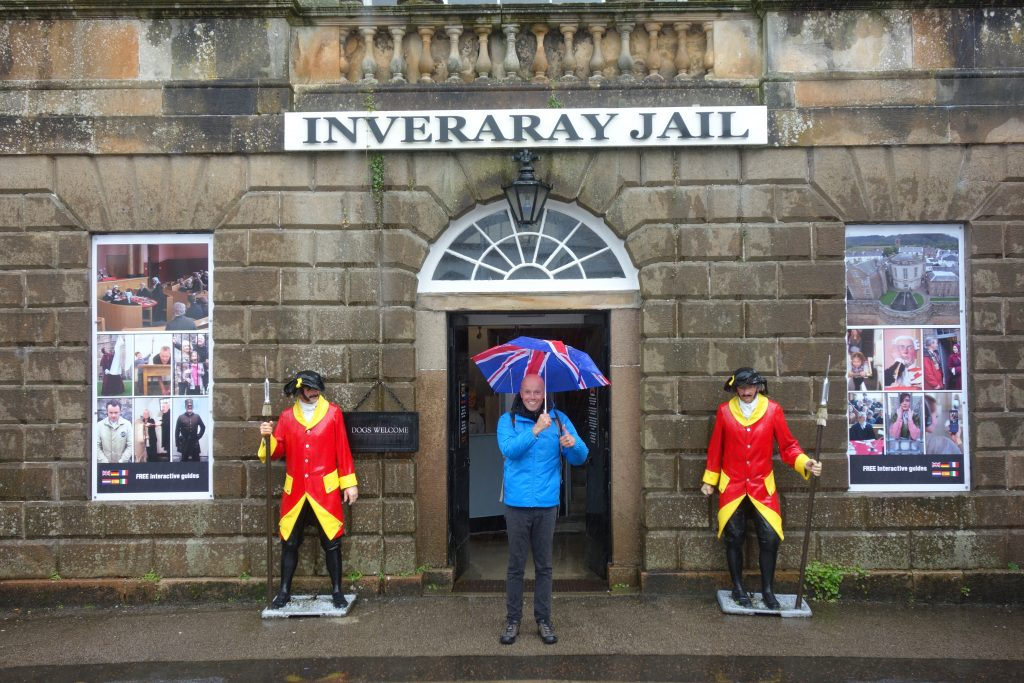 Coastal Road Trip, Inveraray Jail, Jarno
