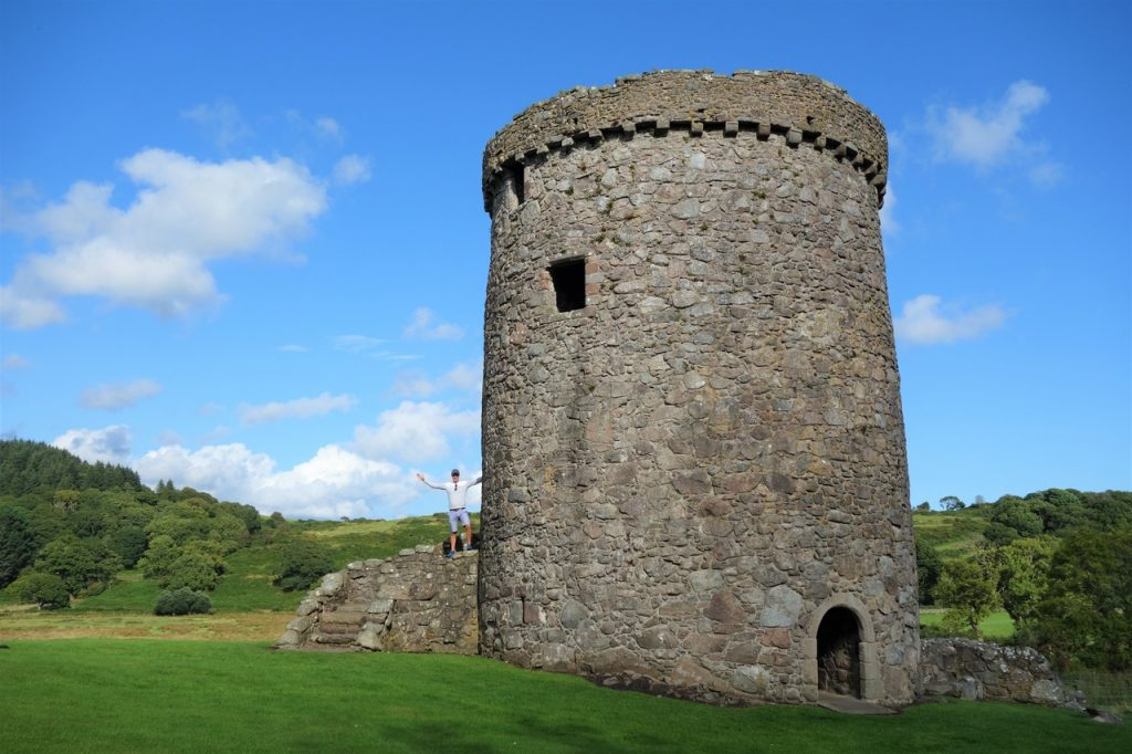 Coastal Road Trip, Orchardton Tower, Jarno