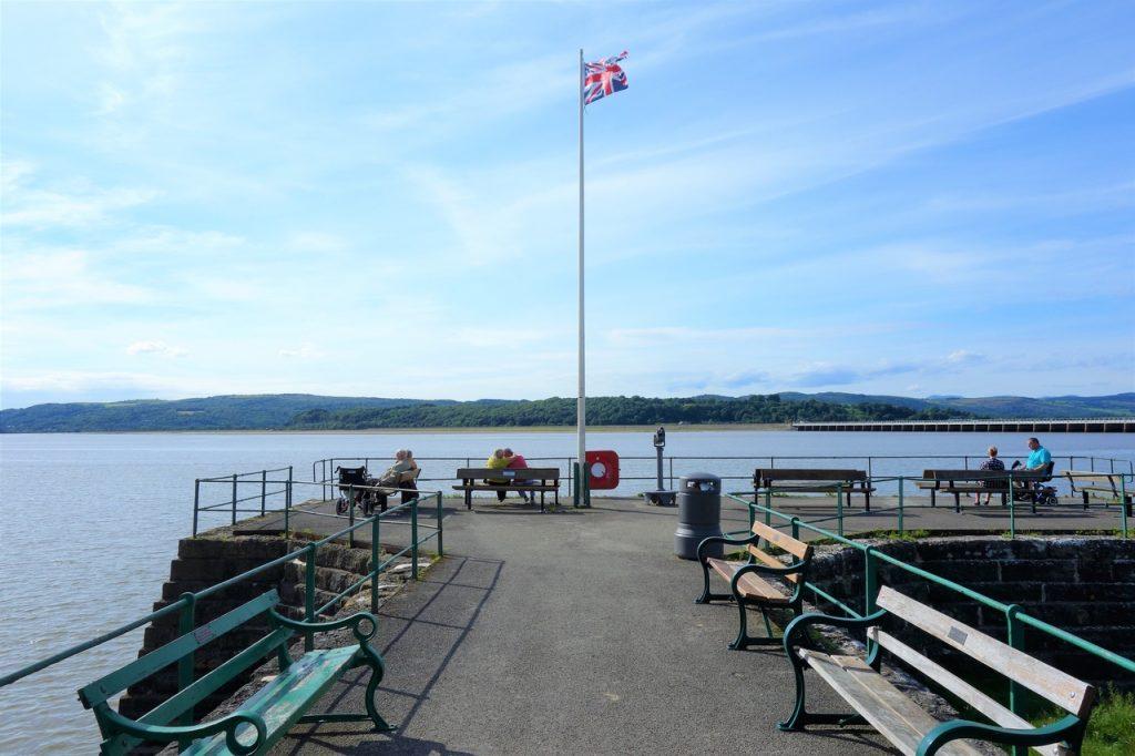 Coastal Road Trip, Arnside, Pier