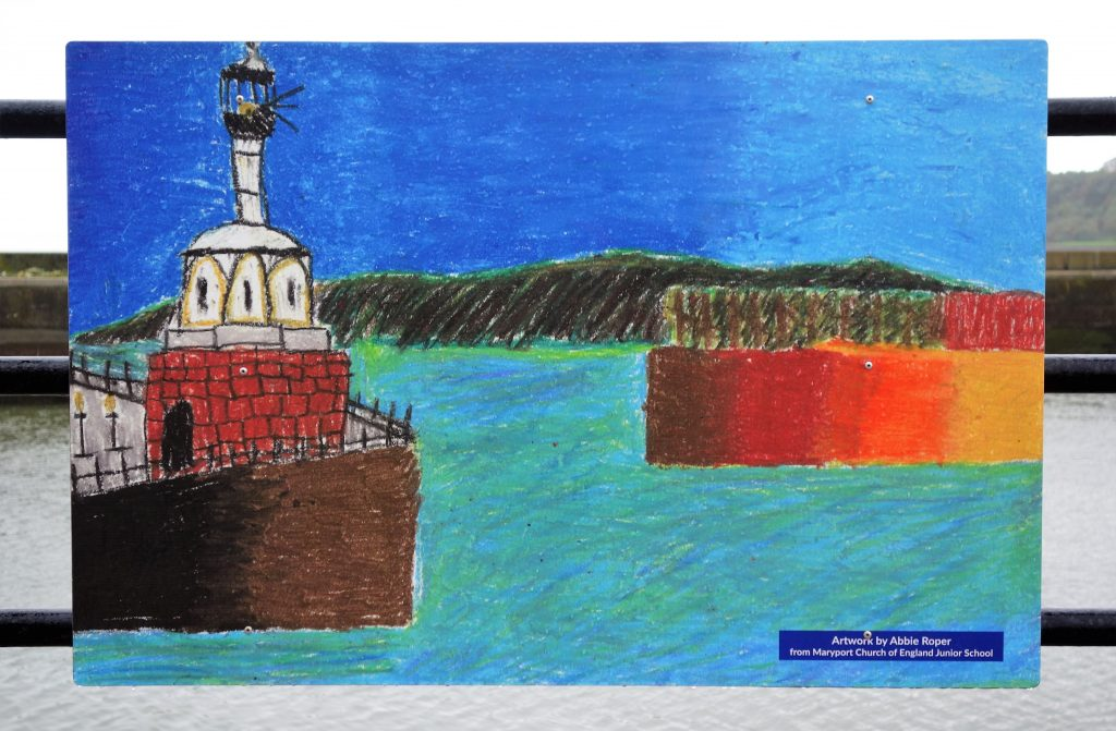 Coastal Road Trip, Maryport, Lighthouse, Paintings