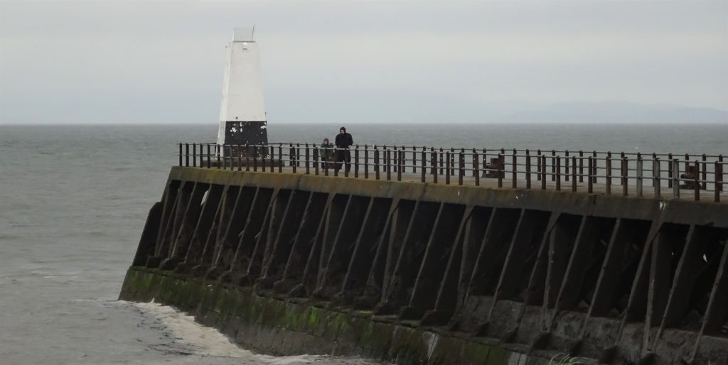 Coastal Road Trip, Maryport Breakwater