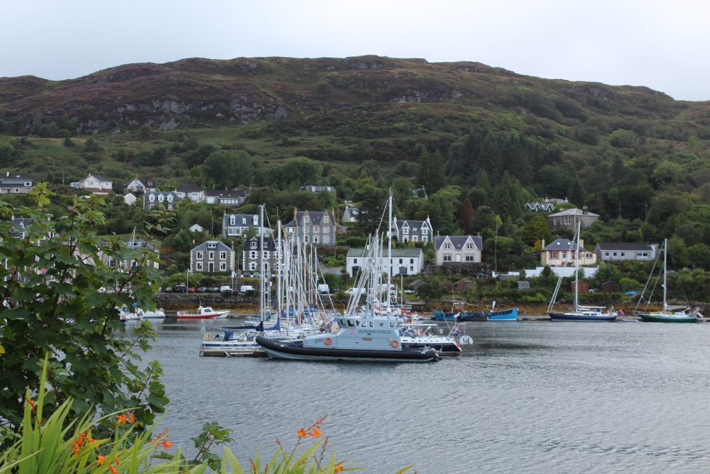Coastal Road Trip, Tarbet, Harbour, Border Force