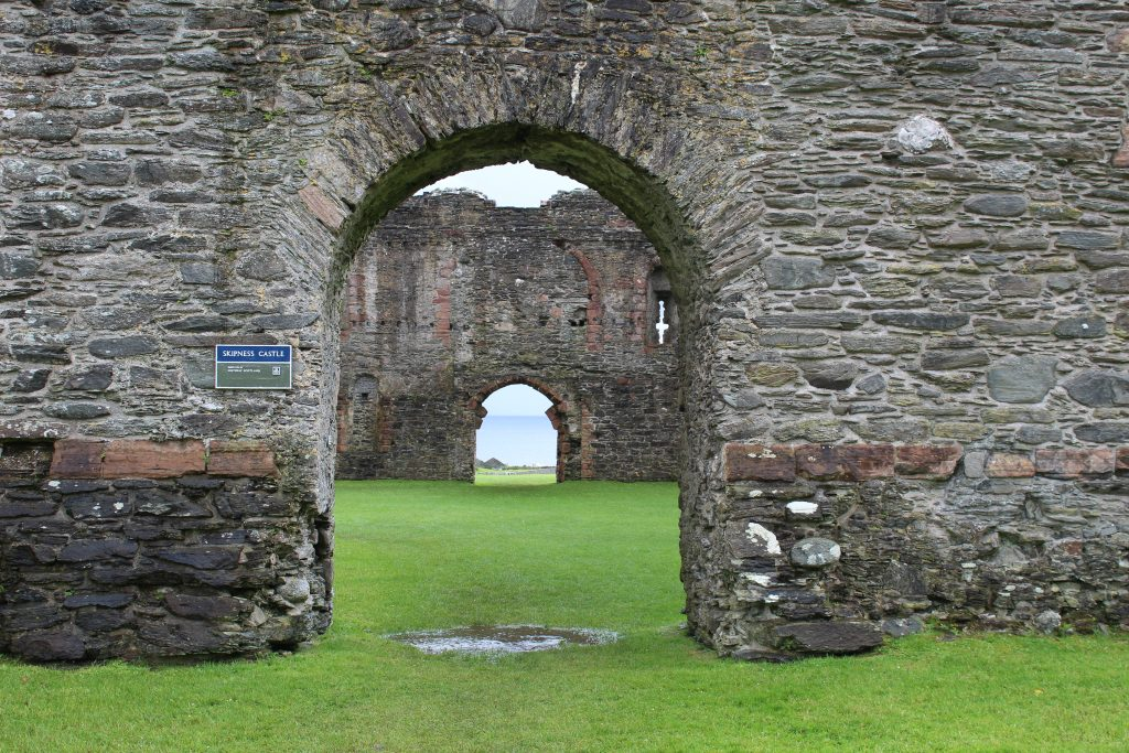 Coastal Road Trip, Skipness Castle