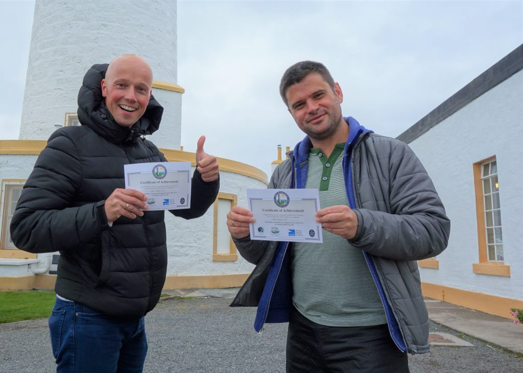 Coastal Road Trip, Mull of Galloway Lighthouse, Certificate, Julian, Jarno