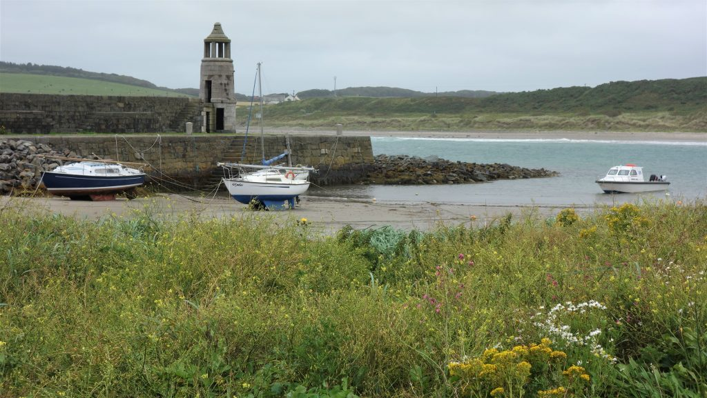 Coastal Road Trip, Port Logan, Old Stone Lighthouse, Bell tower