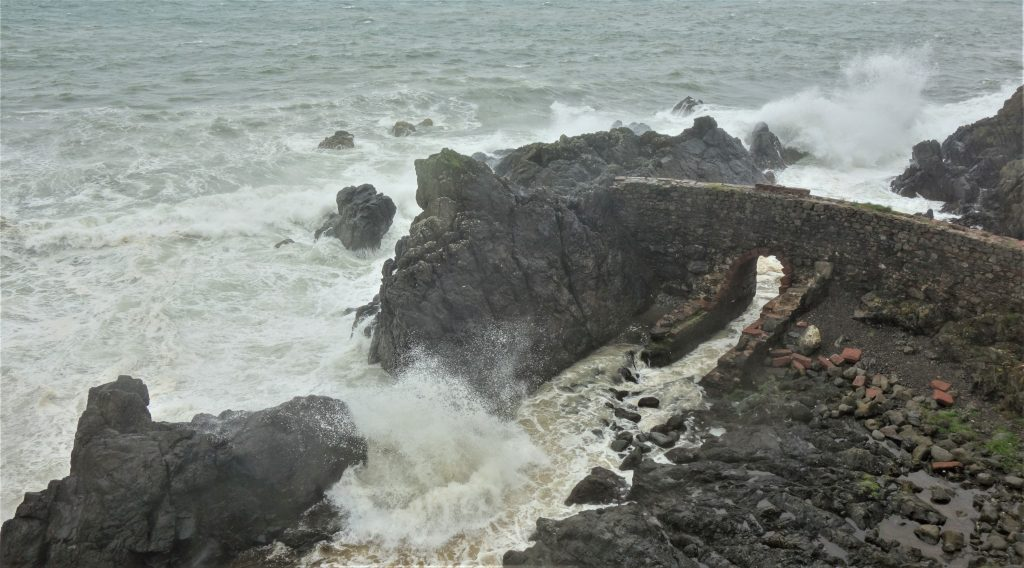 Coastal Road Trip, Portpatrick, Stormy sea
