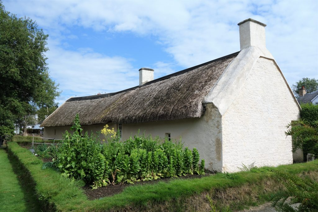 Coastal Road Trip, Alloway, Burns Cottage