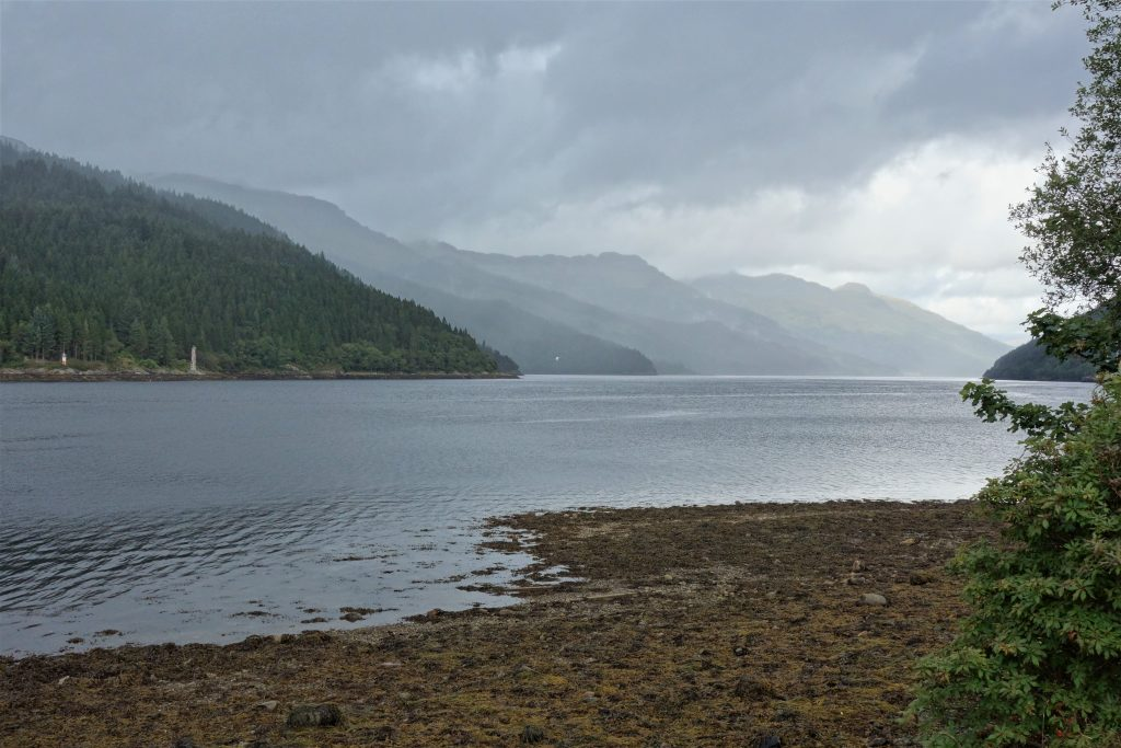 Coastal Road Trip, Loch Long, Grey Mountains