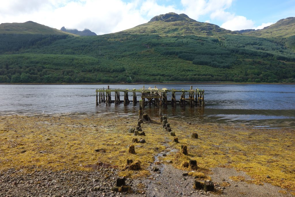 Coastal Road Trip, Loch Long, Arrochar, Old Pier