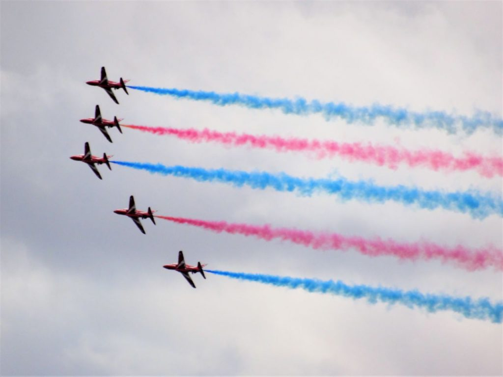 Coastal Road Trip, Barry Island, Red Arrows