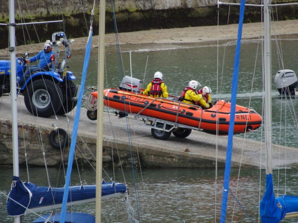 Coastal Road Trip, Tenby, Lifeboat