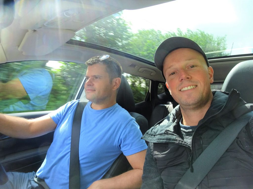 Coastal Road Trip, Car Interior, Julian, Jarno