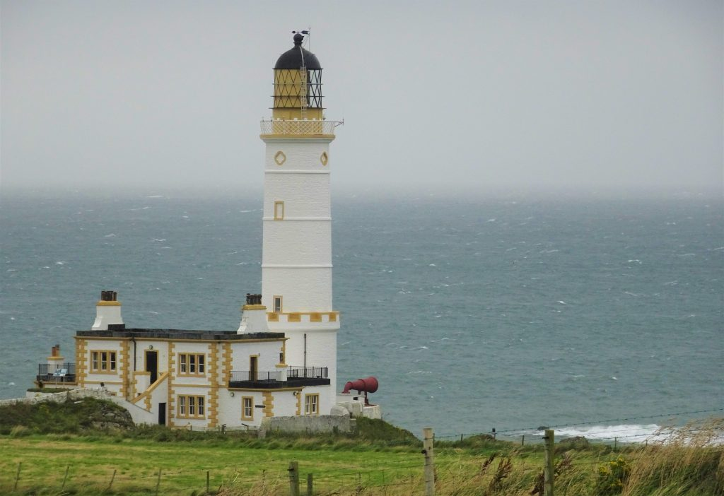 Coastal Road Trip, Corsewall Point Lighthouse