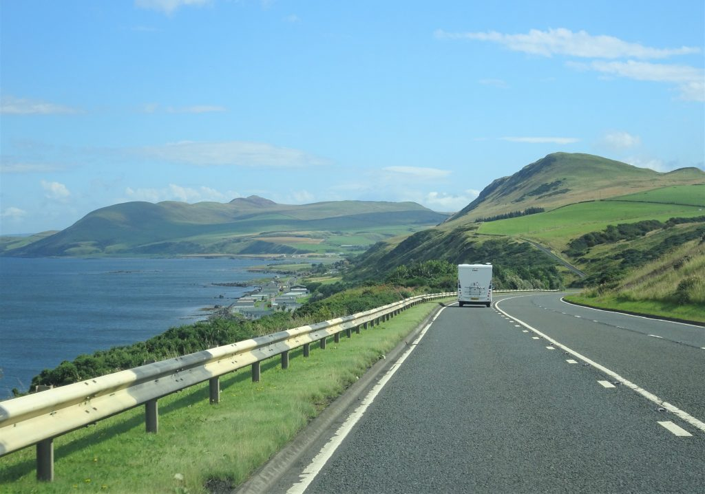 Coastal Road Trip, Lendalfoot, A77