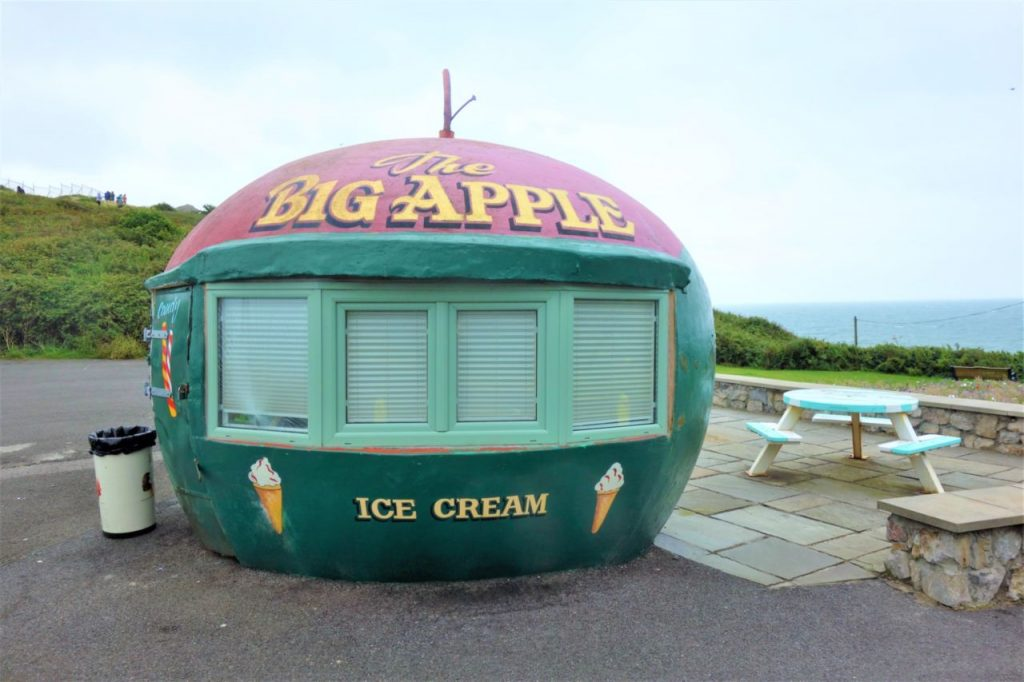 Coastal Road Trip, Mumbles Head, Big Apple Ice Cream