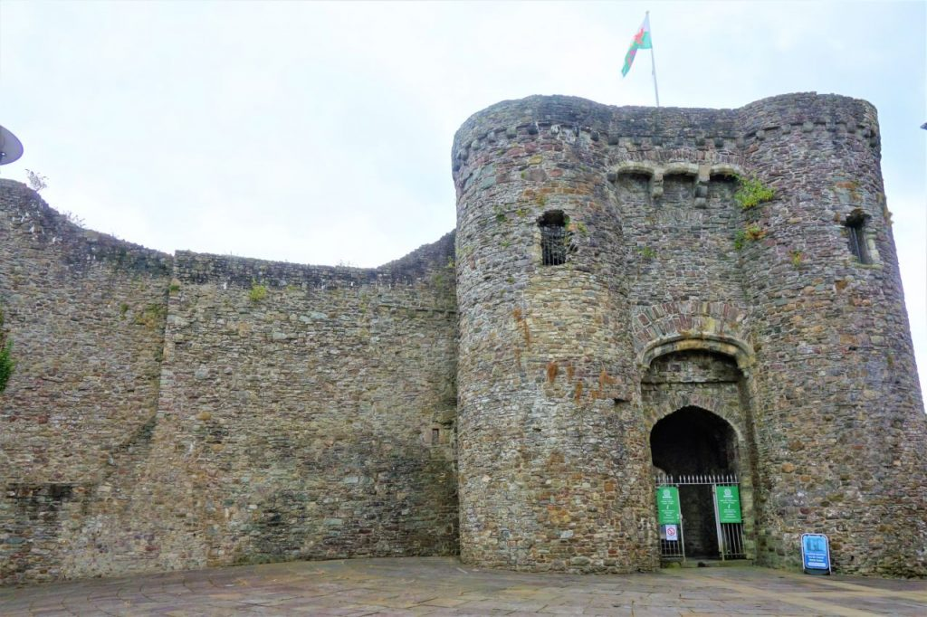 Coastal Road Trip, Carmarthen Castle
