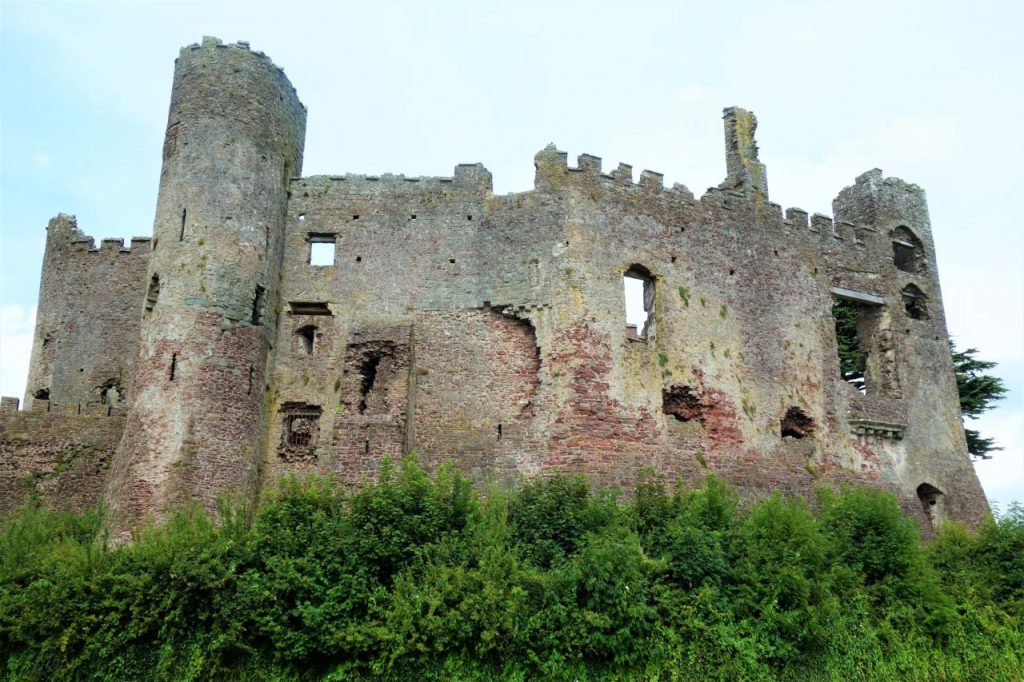 Coastal Road Trip, Laugharne Castle