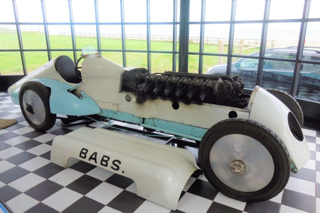 Coastal Road Trip, Pendine Sands, Museum of Speed, Babs