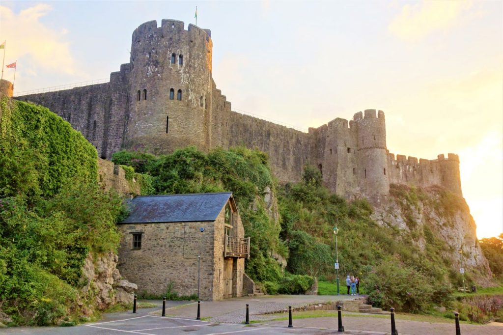 Coastal Road Trip, Pembroke Castle