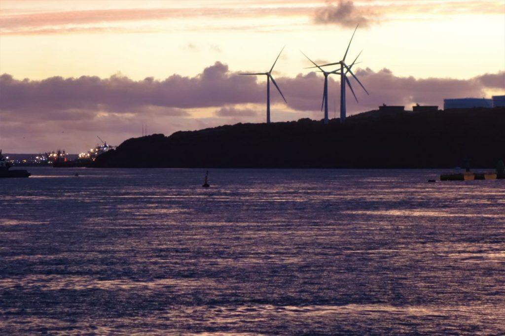 Coastal Road Trip, Pembroke to wind turbines