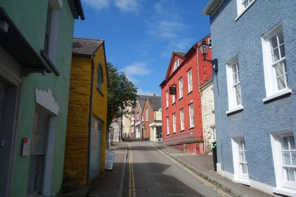 Coastal Road Trip, Cardigan, Colourful Houses
