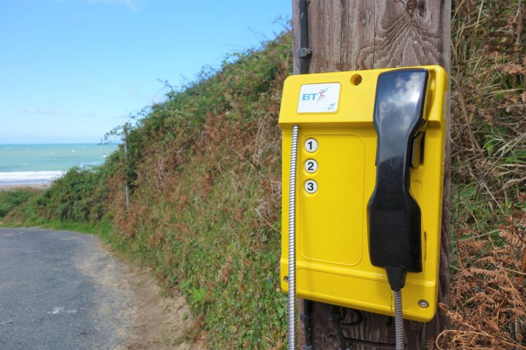 Coastal Road Trip, Penbryn Beach, Telephone