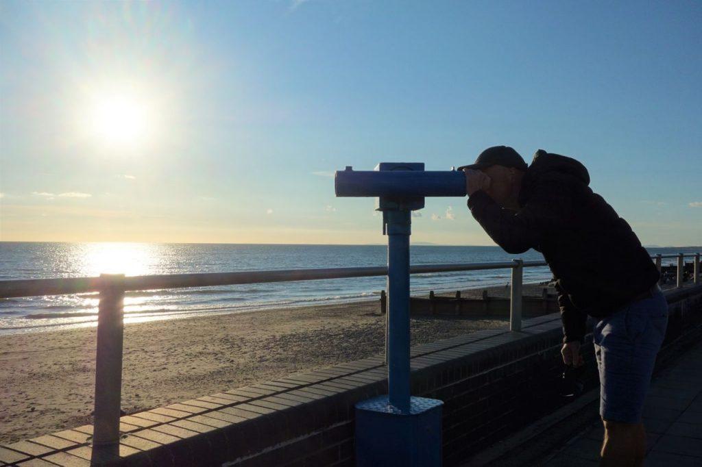 Coastal Road Trip, Tywyn, Telescope