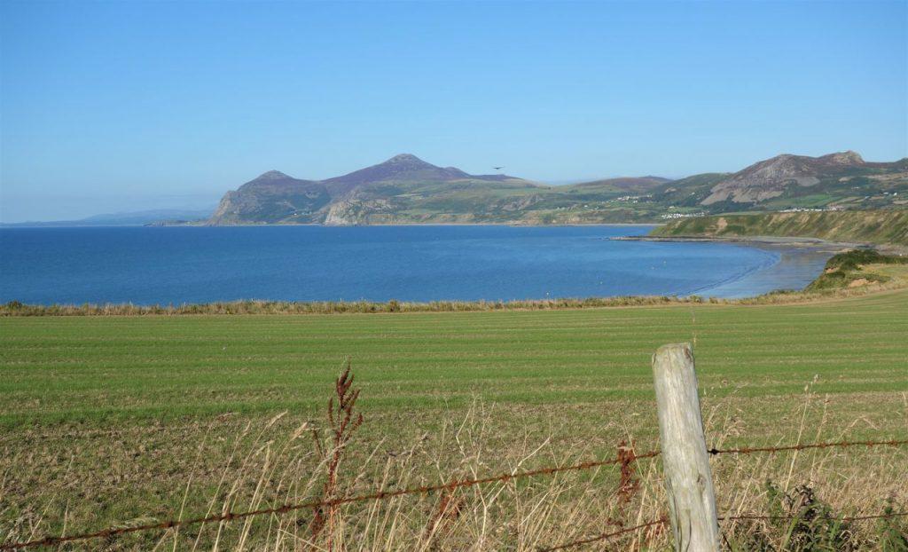 Coastal Road Trip, Porthdinllaen view