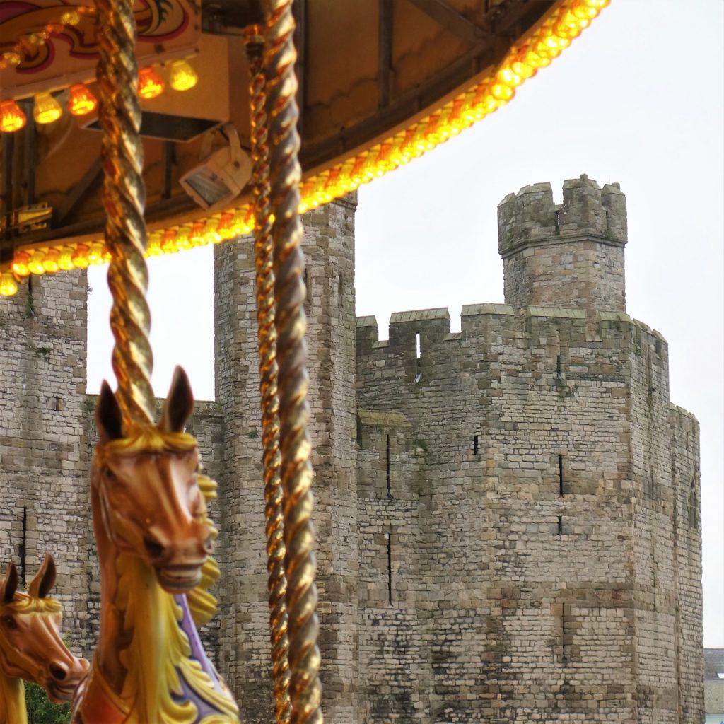 Coastal Road Trip, Caernarfon Castle, Carousel