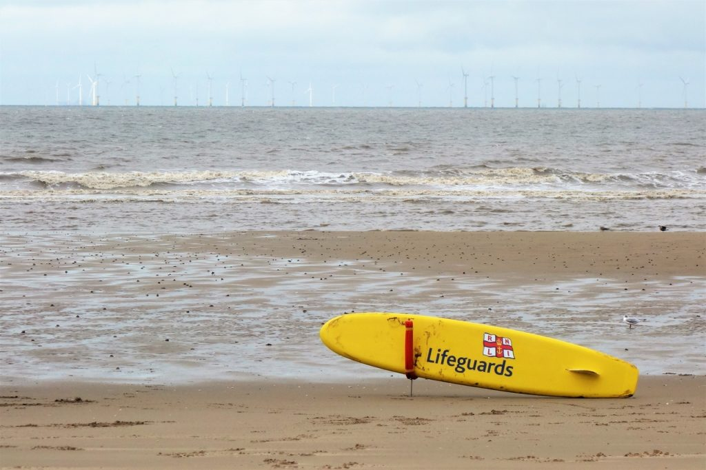Coastal Road Trip, Prestatyn, Lifeguard Board