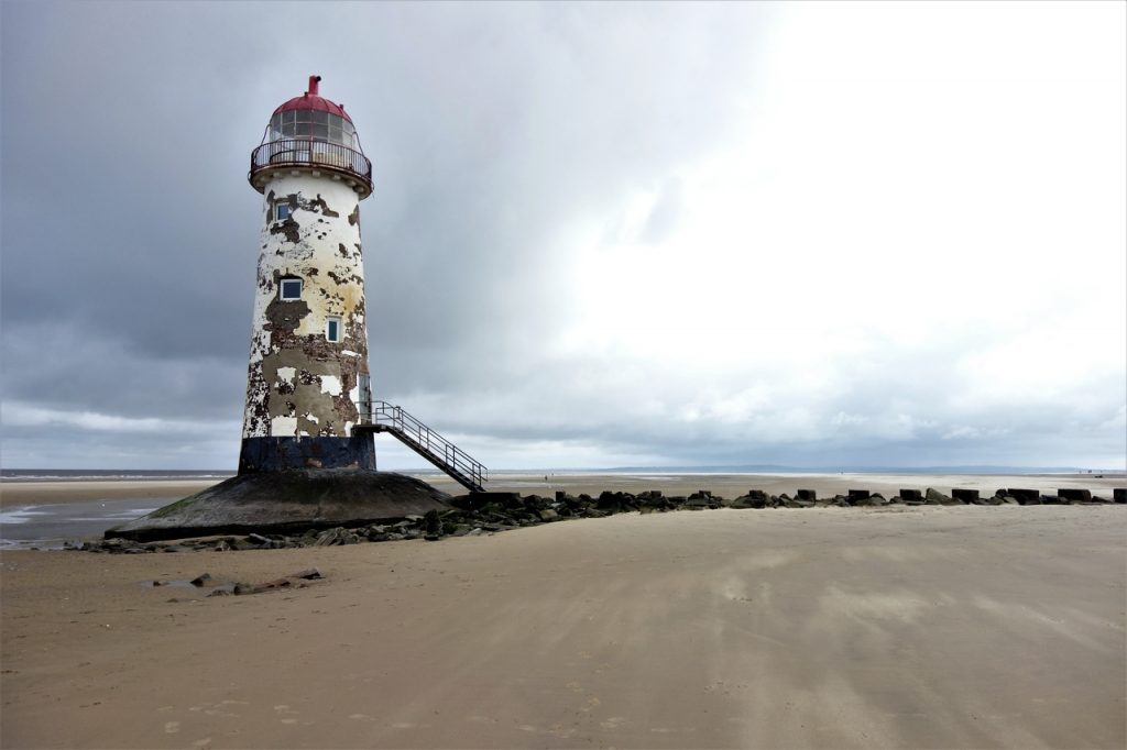 Coastal Road Trip, Talacre Lighthouse, Point of Ayr