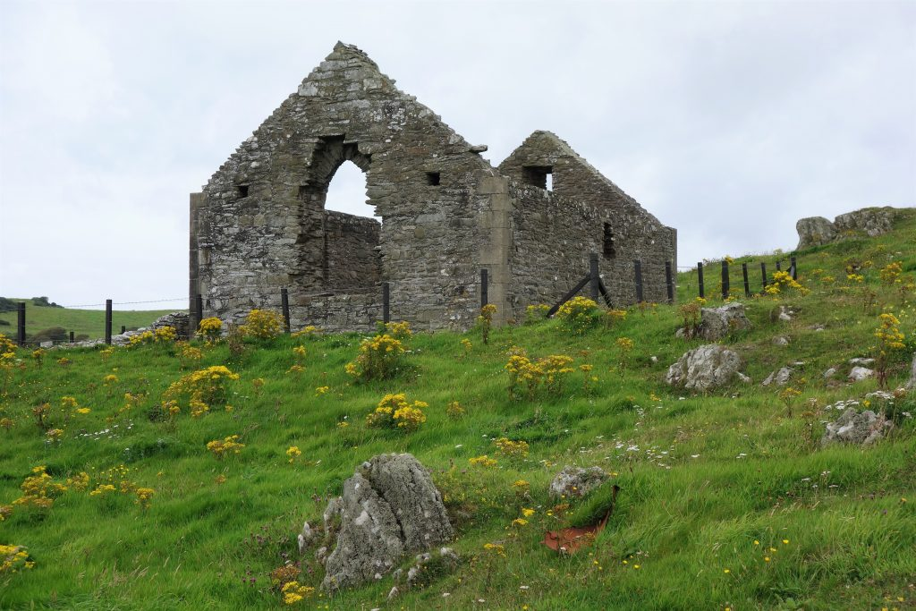 Coastal Road Trip, Isle of Whithorn, St Ninian's Chapel