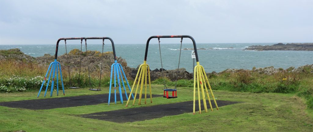 Coastal Road Trip, Isle of Whithorn, Swings