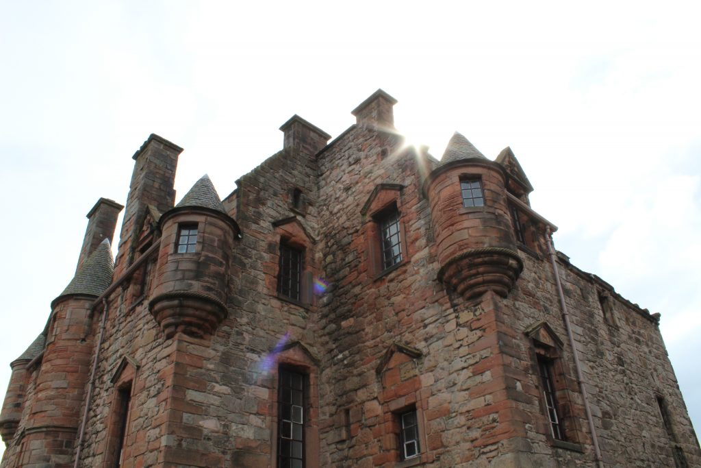 Coastal Road Trip, Port Glasgow, Newark Castle
