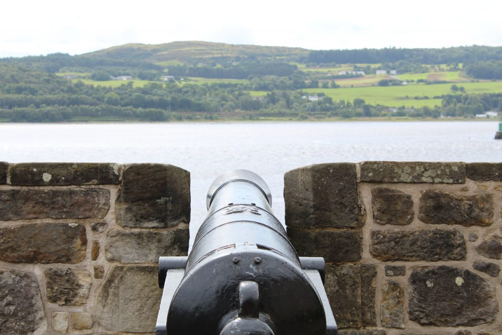 Coastal Road Trip, Dumbarton Castle, Cannon