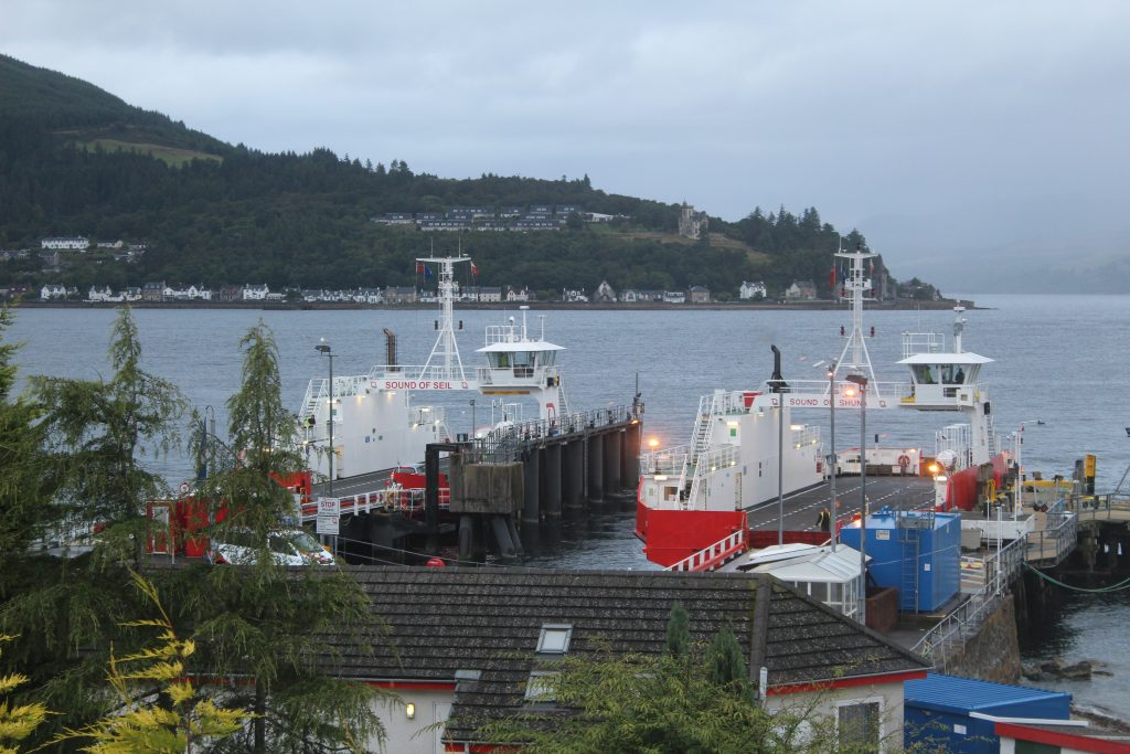 Coastal Road Trip, Dunoon, Hunter's Quay Ferry Terminal