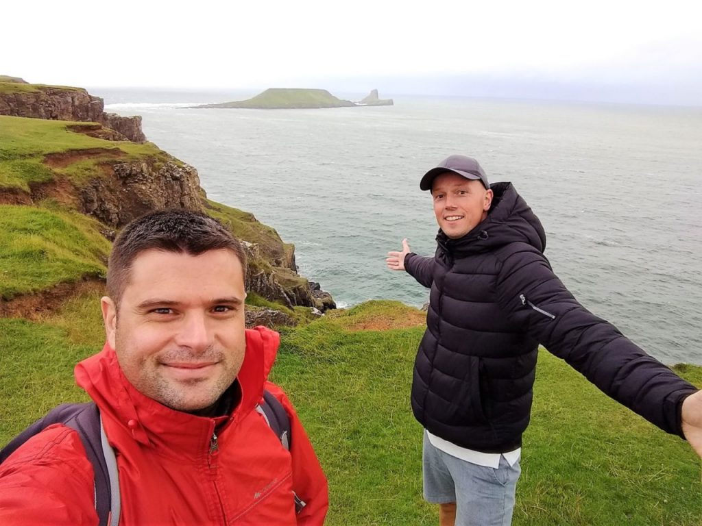 Coastal Road Trip, Worms Head, Julian, Jarno