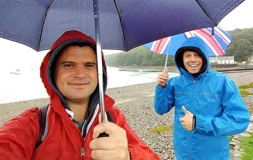 Coastal Road Trip, Dale, Rain, Julian, Jarno