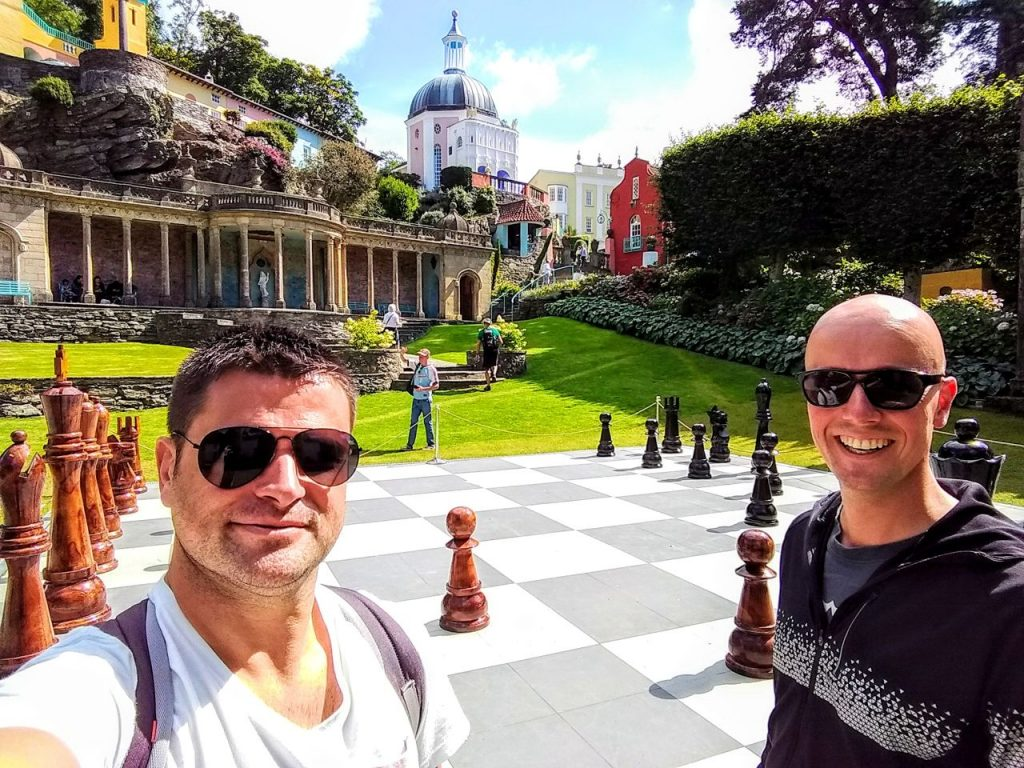 Coastal Road Trip, Portmeirion, Julian, Jarno