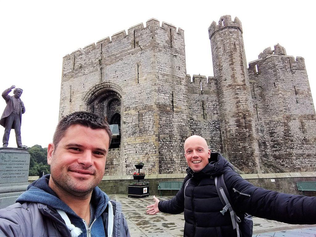 Coastal Road Trip, Caernarfon Castle