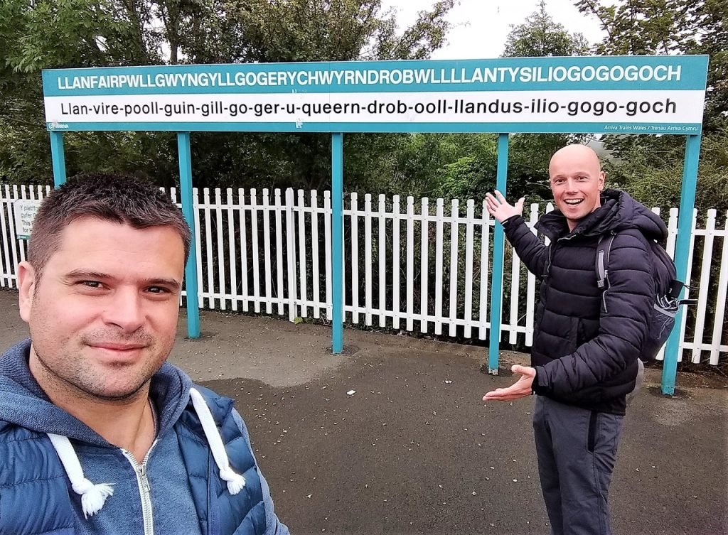 Coastal Road Trip, Llanfairpwllgwyngyllgogerychwyrndrobwll-llantysiliogogogoch Station