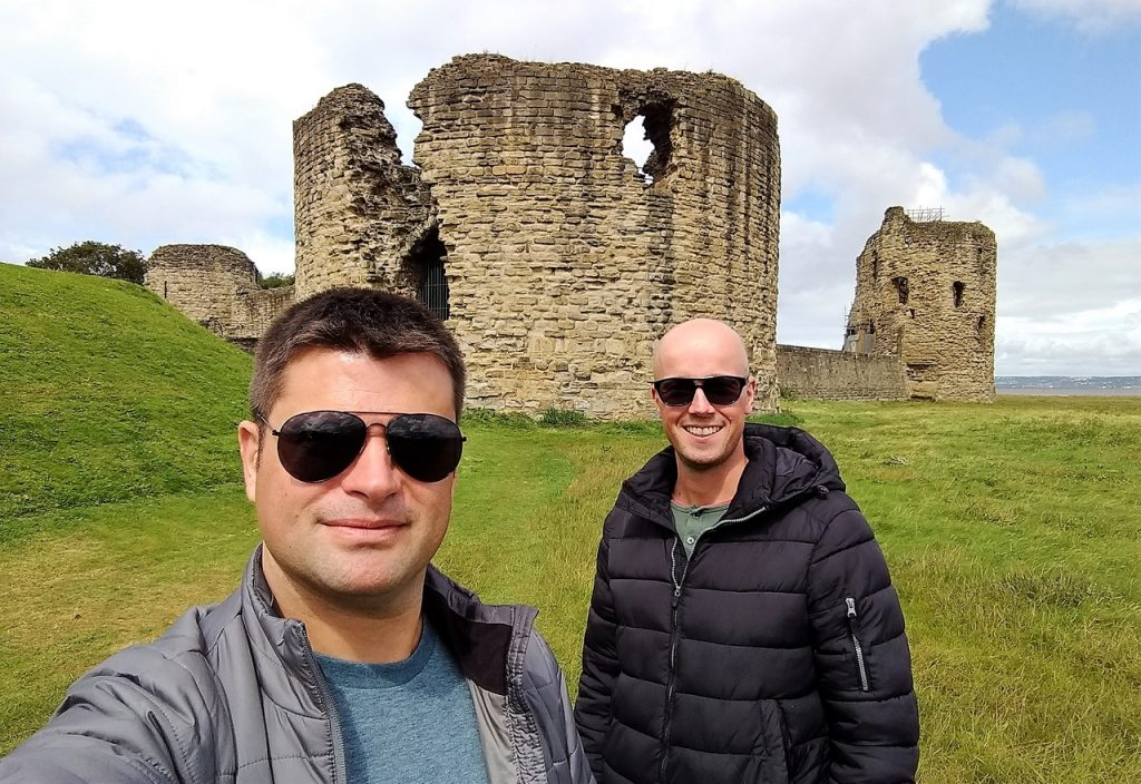 Coastal Road Trip, Flint Castle, Julian, Jarno