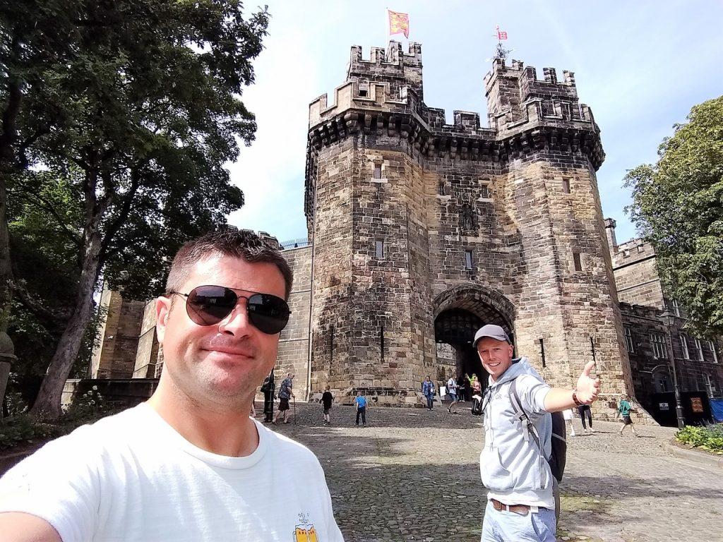 Coastal Road Trip, Lancaster, Lancaster Castle, Julian, Jarno