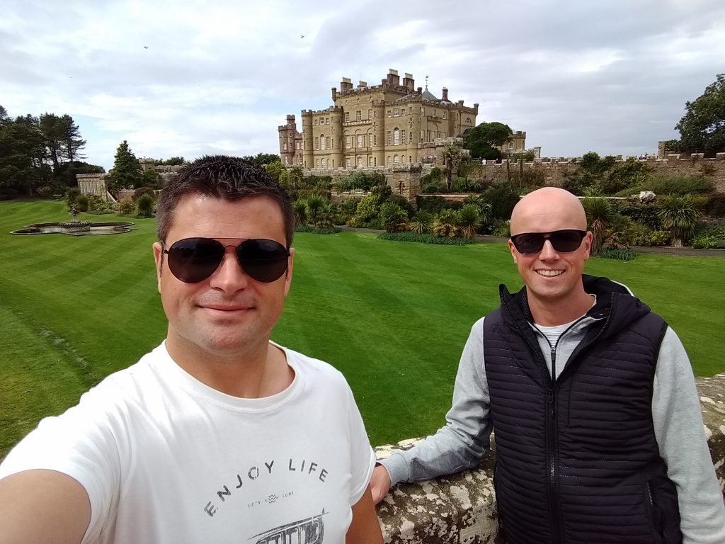 Coastal Road Trip, Culzean Castle, Julian, Jarno